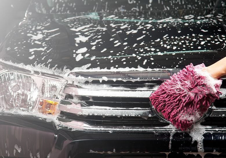 Car-wash-by-hand